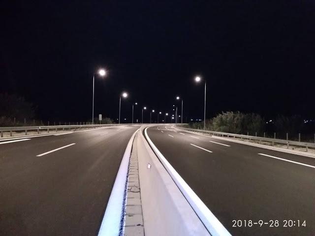 Παραδίδονται τα πρώτα 15χλμ του νέου αυτοκινητόδρομου Άκτιο-Αμβρακία