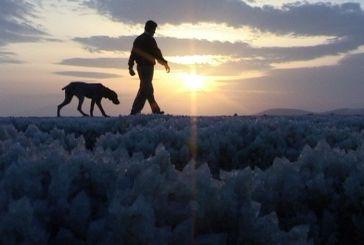 H «Κρυστάλλινη Πολιτεία» στις Αλυκές Μεσολογγίου (φωτο-video)
