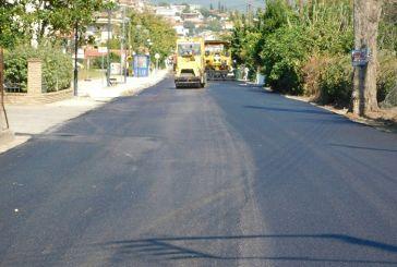 Ασφαλτοστρώσεις οδών σε Αιτωλικό και Οινιάδες