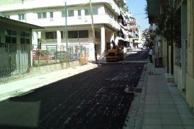 Σε κυκλοφορία τα πρώτα δύο τμήματα της οδού Γρίβα στο Αγρίνιο