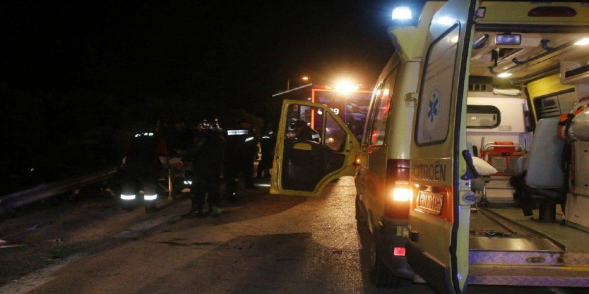 Τραγωδία στο Νιοχώρι : Δύο 29χρονοι νεκροί σε πτώση οχήματος σε αρδευτικό κανάλι