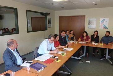 Βιορευστά και λιμνοθάλασσα στις συναντήσεις  Μπαλαμπάνη στο Υπουργείο Περιβάλλοντος