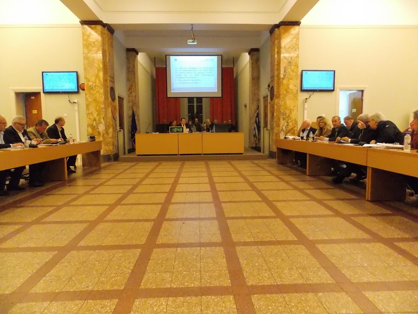 Με μεγάλη ατζέντα συνεδριάζει την Δευτέρα δημοτικού συμβουλίου Αγρινίου