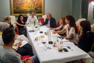 Ενημερωτική συνάντηση «ΔΡΩ» με βουλευτές