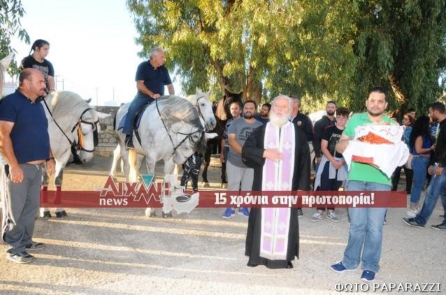 Μεσολόγγι: Έφιπποι τίμησαν και φέτος τον Άγιο Δημήτριο (φωτο)