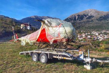Στο Καρπενήσι βρέθηκε ελικόπτερο που εκλάπη στο Μεσολόγγι!