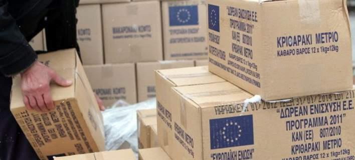 Νέαδιανομή τροφίμων στους ωφελούμενους του προγράμματος ΤΕΒΑ στην  Αιτωλοακαρνανία