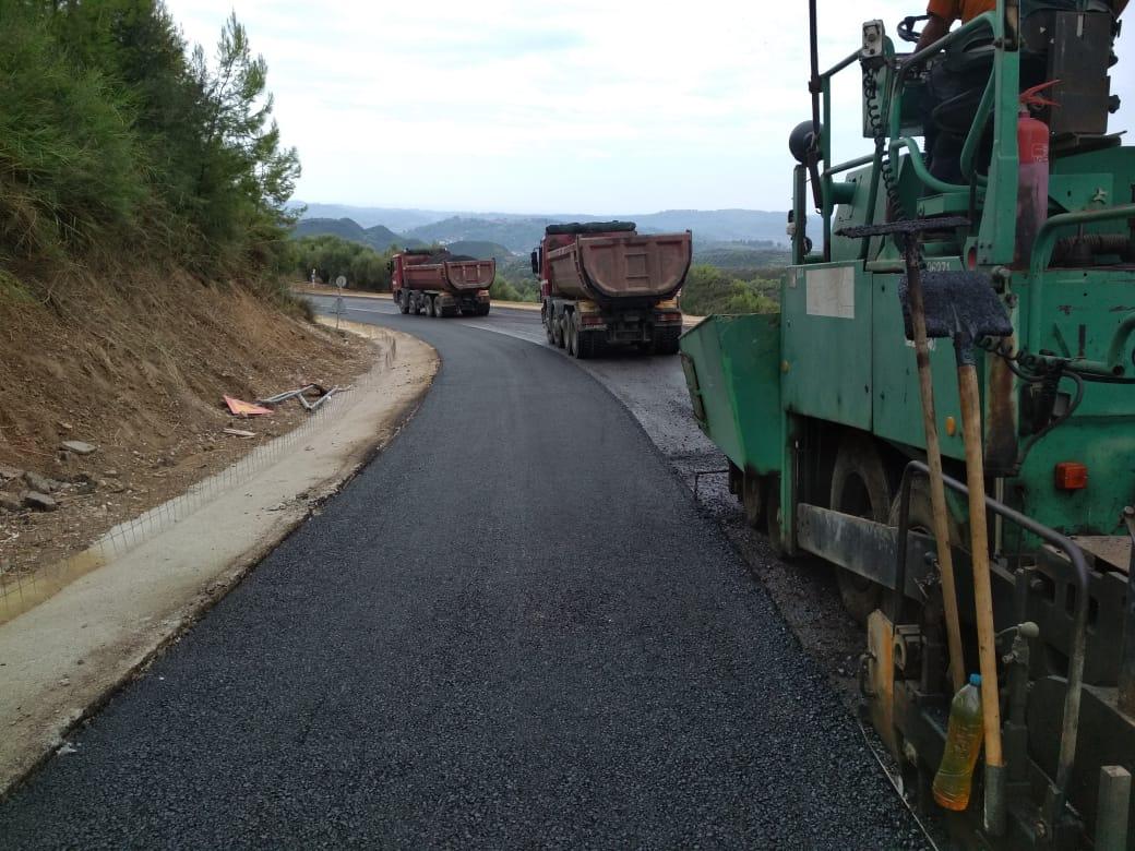 Έργα για την αποκατάσταση ζημιών από καιρικά φαινόμενα στο επαρχιακό οδικό δίκτυο της Αιτωλοακαρνανίας