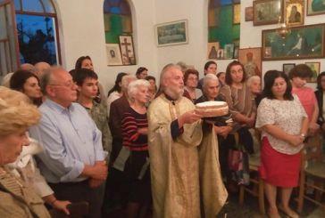 Πανηγυρικός Εσπερινός στο εκκλησάκι του Αγίου Λουκά, δίπλα στο νοσοκομείο Αγρινίου
