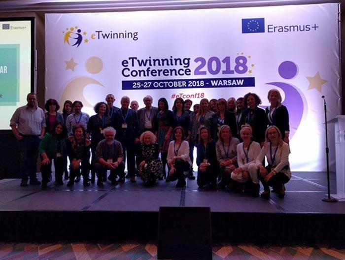 Βραβεύσεις Ελληνικών έργων στο ετήσιο Ευρωπαϊκό συνέδριο eTwinning στη Βαρσοβία της Πολωνίας
