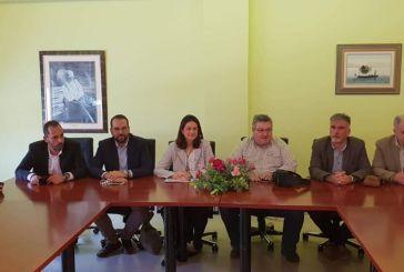 Επι τάπητος τα ζητήματα της Τριτοβάθμιας Εκπαίδευσης σε Αγρίνιο και Μεσολόγγι  στην επίσκεψη της Ν.Κεραμέως