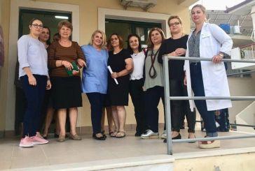 Πολύπλευρη ενημέρωση και συμμετοχή στις δράσεις για τη γυναικεία υγεία στο Αγρίνιο (φωτο)