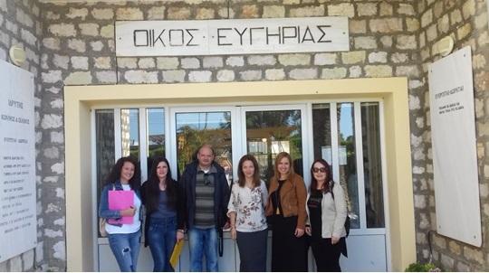Επίσκεψη των Κοινωνικών Δομών του Δήμου Ιεράς Πόλεως Μεσολογγίου στο Σελίβειο Γηροκομείο Μεσολογγίου