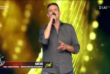"""The Voice"": Καθήλωσε ο Aγρινιώτης Γιάννης Πανουκλιάς (video)"