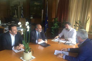 Τα θέματα των αγροτών συζήτησε ο Κατσιφάρας με τον Υπουργό