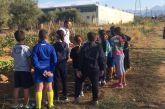 Μαθητές του 1ου Δημοτικού Σχολείου Αγρινίου στον Δημοτικό Λαχανόκηπο