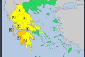 Έκτακτο δελτίο επιδείνωσης καιρού και επιφυλακή στη Δυτική Ελλάδα
