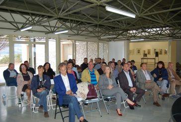 Οι τοπικοί φορείς συζητούν για το νέο μουσείο στο Αιτωλικό