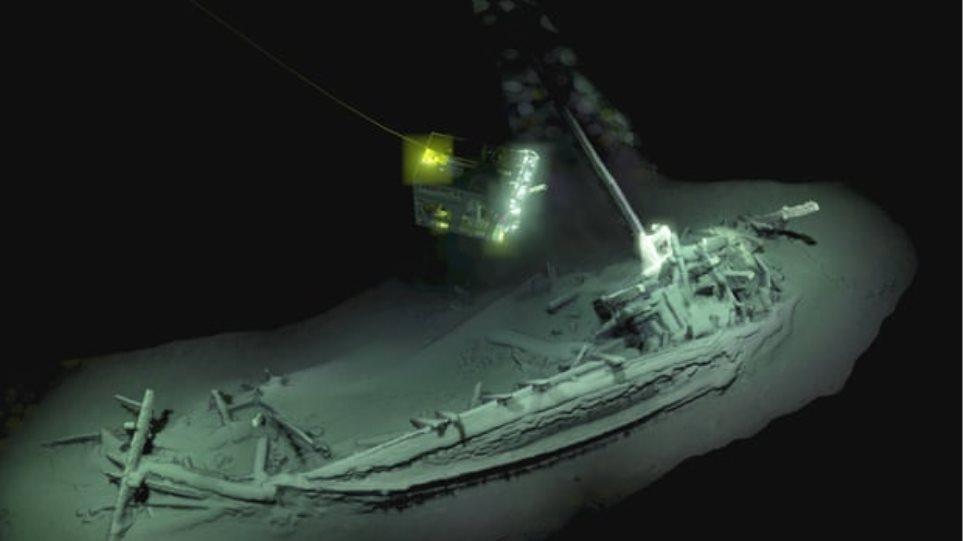 Αρχαιοελληνικό καράβι 2.400 ετών ανακαλύφθηκε ακέραιο στη Μαύρη Θάλασσα!