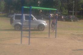 Την μετατροπή του πάρκου σε πάρκινγκ καταγγέλλει η παράταξη Τραπεζιώτη (φωτο)
