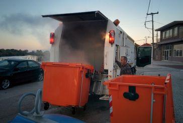 Σε δοκιμαστική λειτουργία το πλυντήριο κάδων στον Δήμο Μεσολογγίου