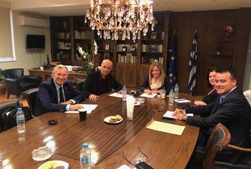Δημαράς-Σταρακά συζήτησαν για τα ζητήματα περιβάλλοντος και ενέργειας