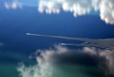 Μια παραπλανητική όψη της λίμνης Τριχωνίδας