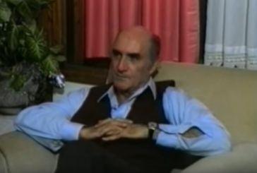 Βίντεο: ο αείμνηστος δήμαρχος Αγρινίου Στέλιος Τσιτσιμελής περιγράφει τις ημέρες της κήρυξης του πολέμου