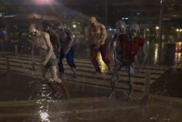 Τα… ζόμπι βολτάρουν στο Αγρίνιο (βίντεο)