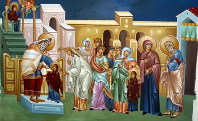 Εισόδια της Θεοτόκου- Μια από τις μεγαλύτερες θεομητορικές εορτές