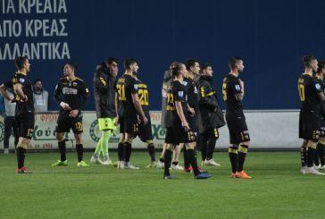 «Σκασμένοι» με την εικόνα της ΑΕΚ στο Αγρίνιο οι οπαδοί της