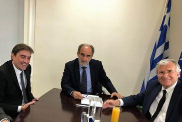 Συνάντηση Κατσιφάρα με τον Υφυπουργό Περιβάλλοντος