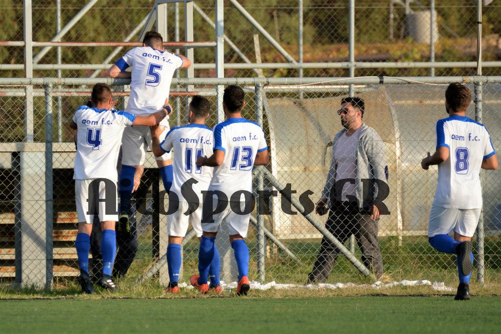 Νίκη για την ΑΕΜ επί του Αγγελοκάστρου με 1-0