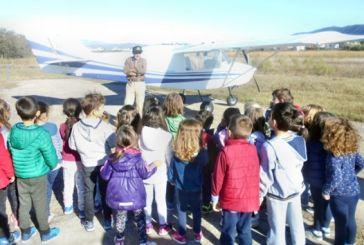 Επισκέψεις σχολείων στο παλαιό Πολιτικό Αεροδρόμιο Αγρινίου για την εορτή της Αεροπορίας (φωτο & βίντεο)