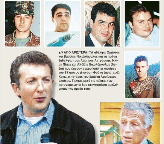 Σαν σήμερα: 12 χρόνια από το πενταπλό φονικό του Αγρινίου που συγκλόνισε την Ελλάδα