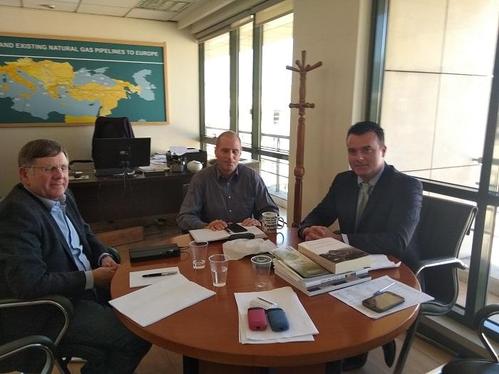 Συνάντηση στον Υπουργείο Περιβάλλοντος για περιβαλλοντικά ζητήματα της Δυτικής Ελλάδας