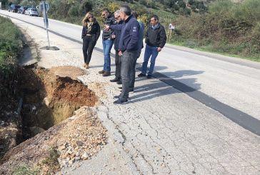 Έργα αποκατάστασης σε δρόμους  των περιοχών Μεσολογγίου, Βάλτου και Ξηρομέρου