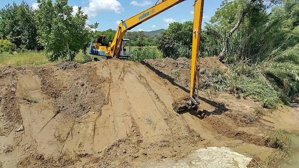 Ξεκινούν εργασίες καθαρισμού και συντήρησης των αντιπλημμυρικών έργων στον ποταμό Εύηνο