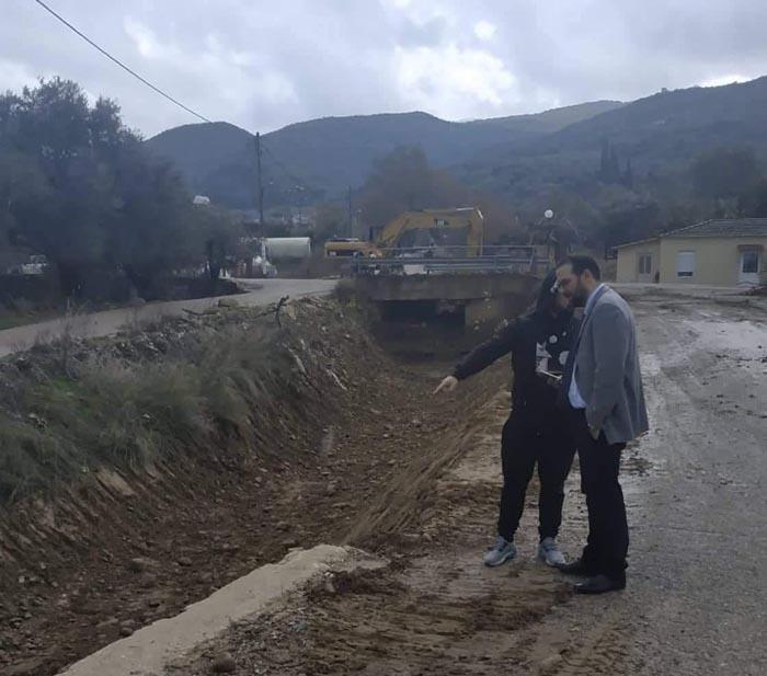 """Φαρμάκης σε Ζευγαράκι: """"Απούσα η αντιπλημμυρική πολιτική από τους σχεδιασμούς της Περιφερειακής Αρχής"""""""