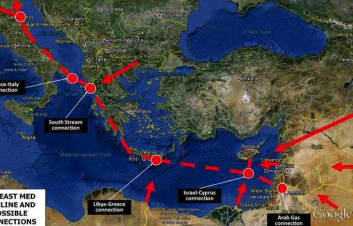 Ο μακρύτερος υποθαλάσσιος αγωγός φυσικού αερίου από την Αν. Μεσόγειο θα περάσει από την Αιτωλοακαρνανία