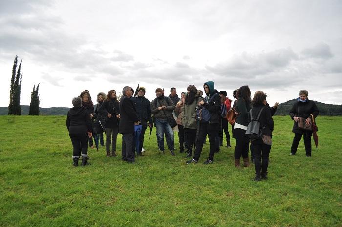 Εκπαιδευτική επίσκεψη του ΔΙΕΚ Μεσολογγίου στην Αρχαία Ολυμπία