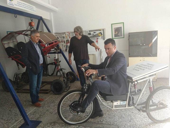 Και ηλιακό όχημα ειδικό για ΑμέΑ θα κατασκευάσουν οι φοιτητές του Αγρινίου