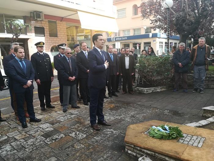 Ο εορτασμός της ημέρας των Ενόπλων Δυνάμεων στο Αγρίνιο
