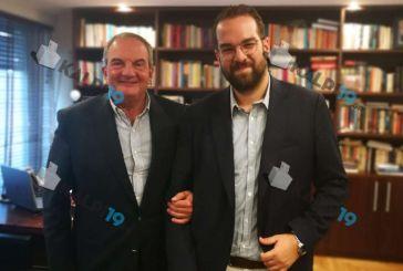 Καραμανλή- Φαρμάκης μίλησαν για όλα και για τη Δυτική Ελλάδα (φωτο)