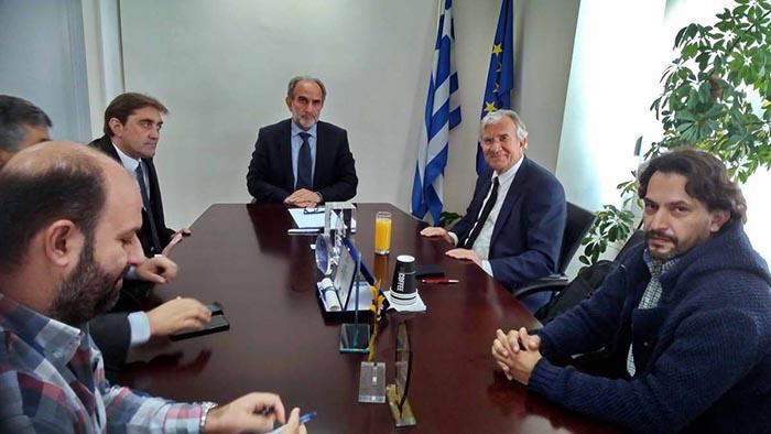Συνάντηση Κατσιφάρα – Δημαρά για τις ανανεώσιμες πηγές ενέργειας στη Δυτική Ελλάδα