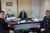 Στον Περιφερειάρχη ο νέος Γενικός Αστυνομικός Διευθυντής και ο Διευθυντής Αστυνομίας Αχαΐας