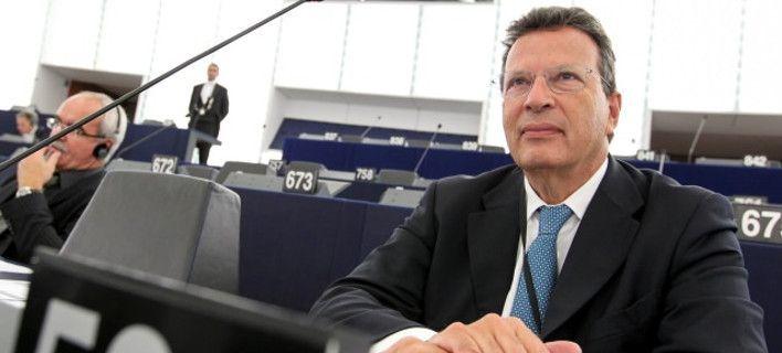 Ο Γ. Κύρτσος στους ομιλητές του Συνεδρίου Ευρωπαίων Δημοσιογράφων στο Αγρίνιο