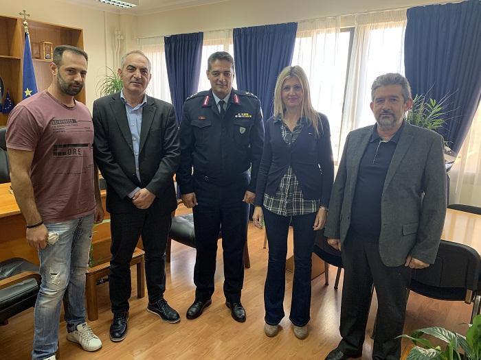 Εθιμοτυπική επίσκεψη των Πολιτικών Υπαλλήλων στον νέο Περιφερειακό Αστυνομικό Διευθυντή