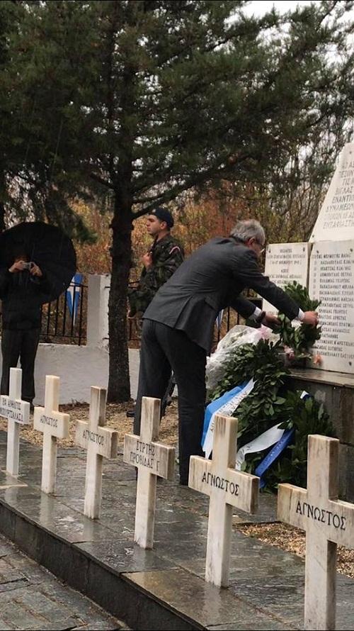 Τίμησαν τη μνήμη των πεσόντων Αιτωλοακαρνάνωνστη μάχη της Γκραμπάλας
