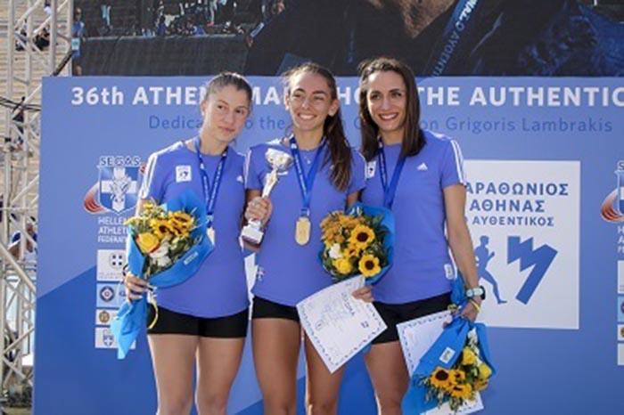 Run Greece: Τρίτη στον τελικό η Αγρινιώτισσα Ελένη Νικολοπούλου